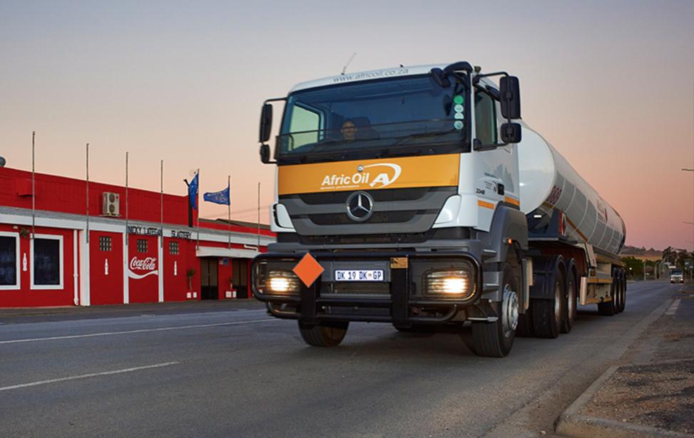 Afric Oil truck